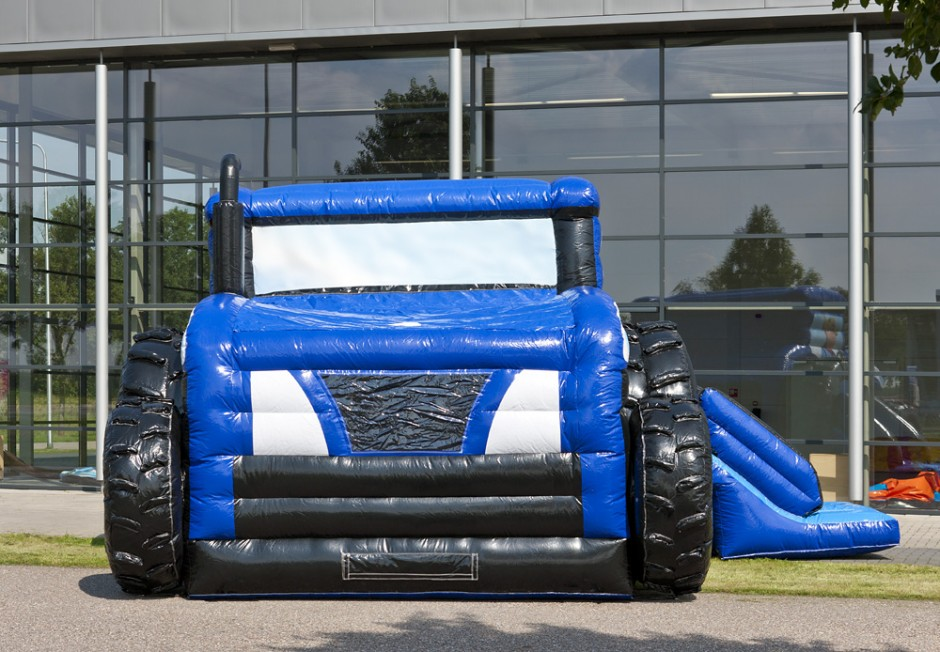 Maxi Multifun Traktor Blå