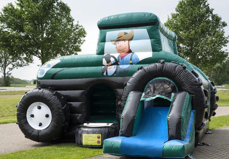 Maxi Multifun Traktor Grön