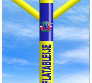 Skydancer Vanlig med Logo 4m