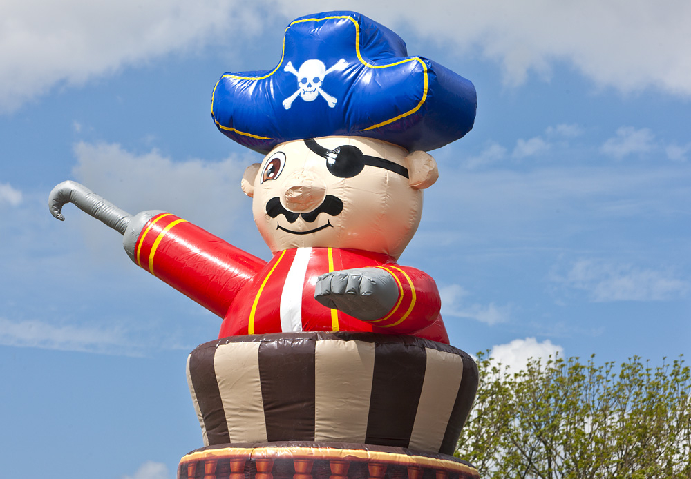 Klättra Torn Pirat