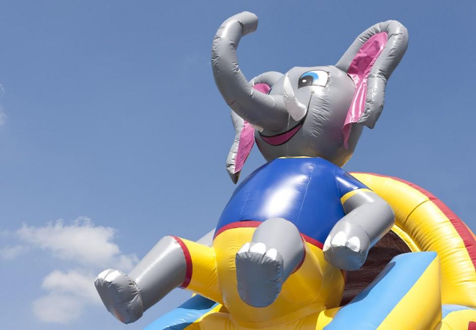 4-i-1 Elefant