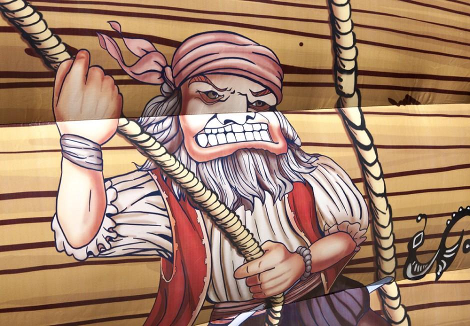 Piraterbåt Rutsch 12m