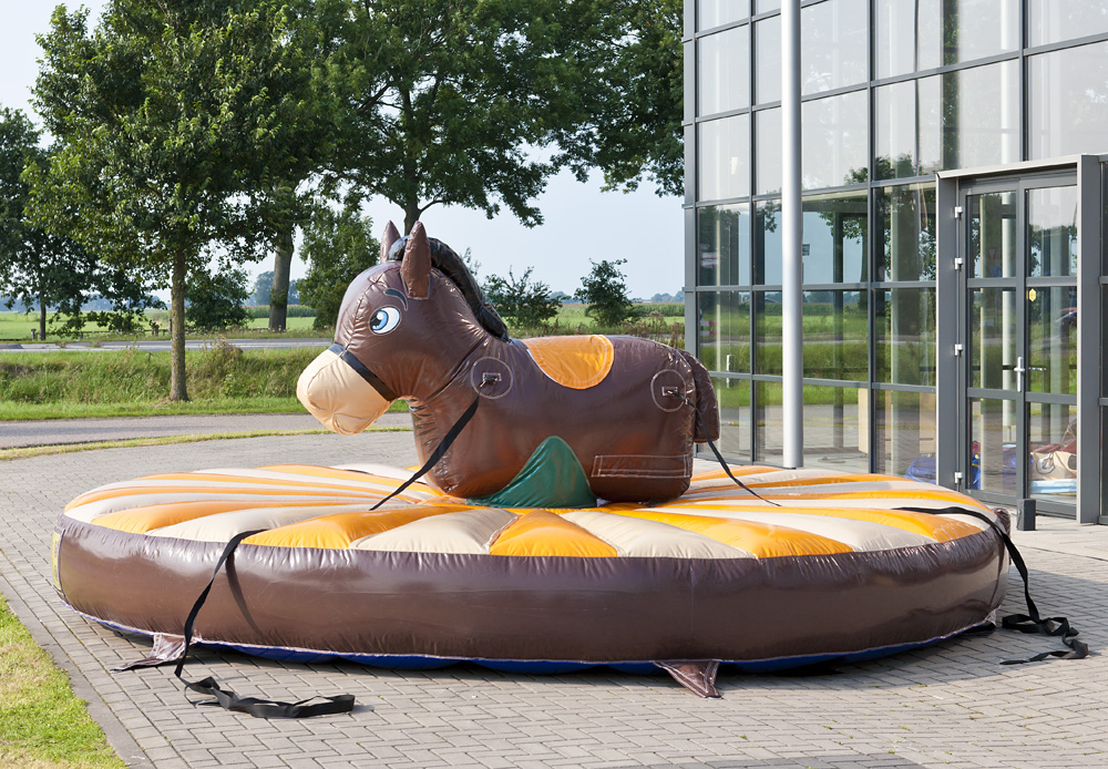 Dra Rodeo Häst