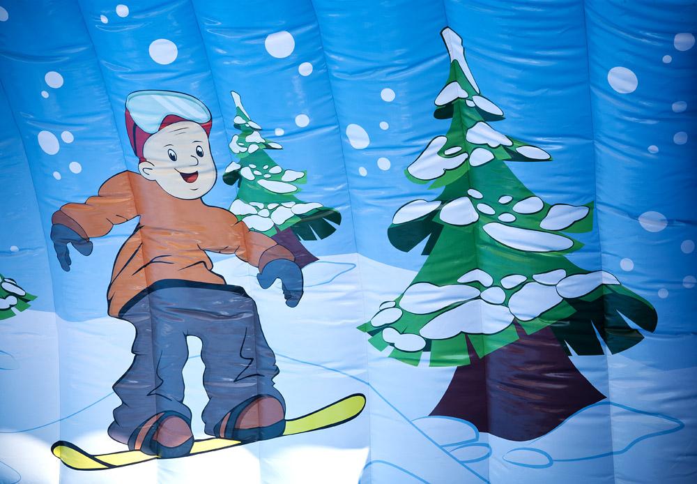Rodeo Matta Snowboard Golf