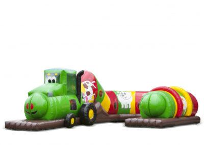 Lekorm Traktor Grön