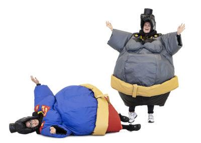 Sumo Superman & Batman